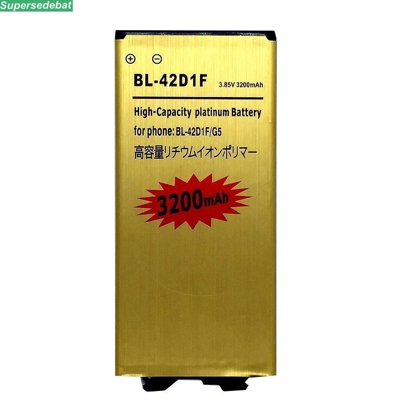 supersedebat 10pcs New li-ion Battery BL-42D1F for <font><b>LG</b></font> <font><b>G5</b></font> Mobile Phone Rechargeable Phone Batteries Accumulator wholesale <font><b>bateria</b></font> image