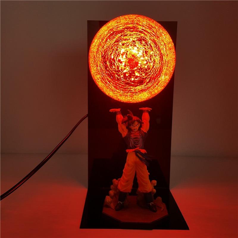 Songoku strength bomb LED desk lamp 5