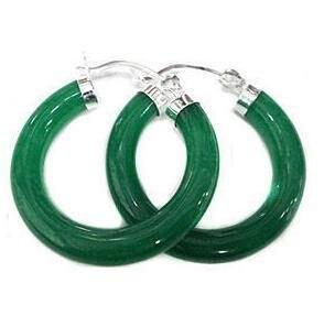 Благородные милые серьги-кольца с зеленым камнем из серебра 925 пробы и серьги Huggie, чудесное благородство, изысканные свадебные ювелирные изделия для женщин на удачу