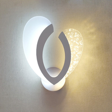 Modern minimalist Acrylic LED wall lamp living room staircase aisle bedroom bedside lamp creative bubble wall light AC85 265V