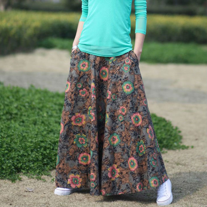Simple Long Skirts