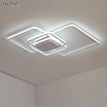 White or Coffee LED Aluminum Chandelier Lamp For Home Decoration Ceiling Chandelier
