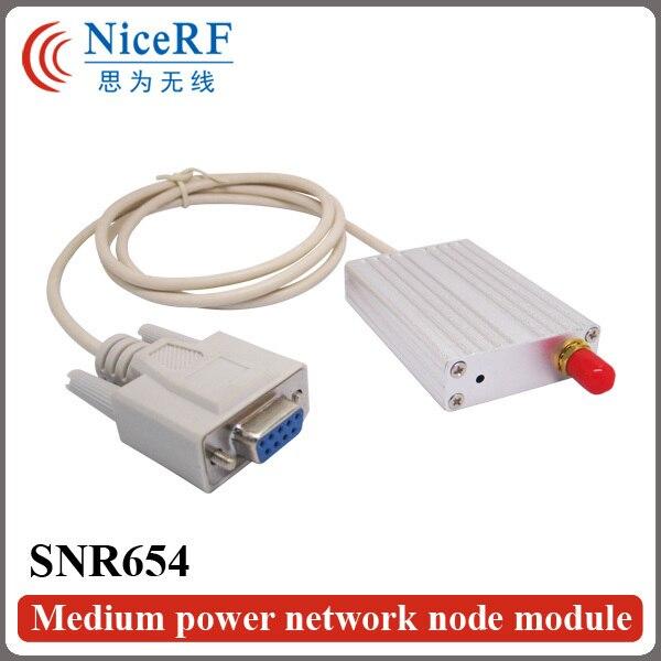 2 шт./упак. SNR654 915 МГц Интерфейс RS232 27dBm Средней Мощности Беспроводной RF Модуль Приемопередатчика