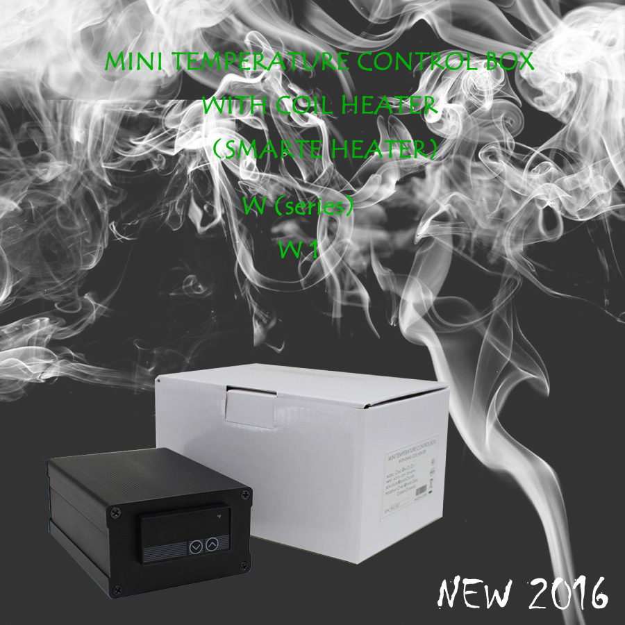 (NEW 2016 ,W1, POWER 220V ) SMALL DIGITAL TEMPERATURE CONTROL BOX NAIL COIL HEATER,DIRECT MANUFACTURER! new 2016 w2 white mini temperature control box nail coil heater titanium nail electronic cigarette