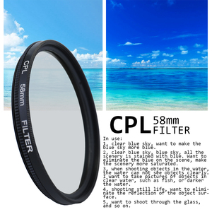 Image 4 - Andoer Professional Lens and Filter Bundle Complete and Compact Camera Accessory Kit Photography Accessories 52mm 58mm