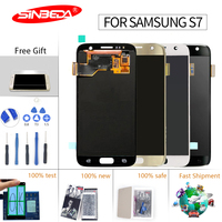 5.1 High TFT For SAMSUNG GALAXY S7 LCD Display Touch Screen Digitizer G930 with Frame For Samsung S7 Screen