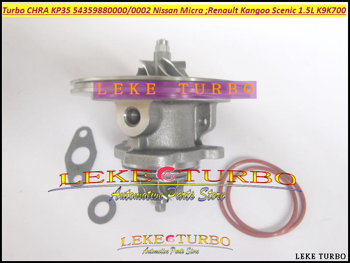 Free Ship Turbocharger Turbo Cartridge CHRA KP35 54359880000 54359880002 For NISSAN Micra For Renault Kangoo Scenic 1.5L K9K700 turbo cartridge chra core gt1752s 733952 733952 5001s 733952 0001 28200 4a101 28201 4a101 for kia sorento d4cb 2 5l crdi