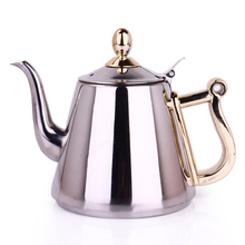 Stainless steel teapot kettle induction cooker special gongfu teapot home flat With filter  1200ML stainless steel water kettle 1200ml