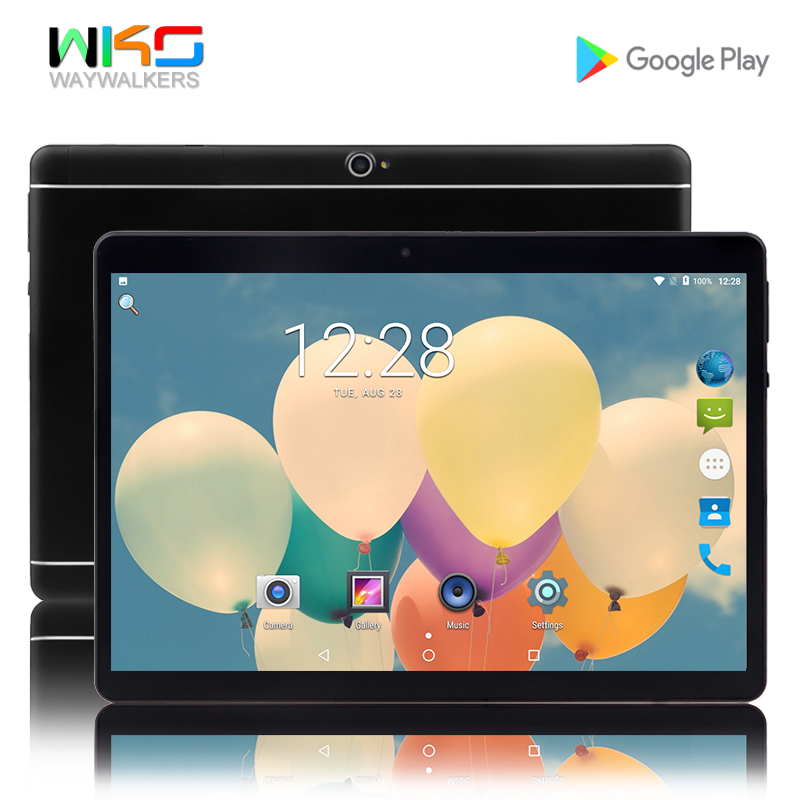 Tablets 2018 New 10.1 inch Octa core 4GB 32GB Android 6.0 4G LTE smartphone tablet pc 1280*800 HD IPS wifi Bluetooth GPS Phone цена