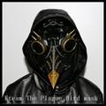Hot The Plague Bird mask Doctor mask Long Nose Cosplay Fancy Mask Exclusive Gothic Steampunk Retro Rock Leather Halloween mask