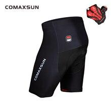 COMAXSUN מכנסי רכיבה 5D ג ל מרופד עמיד הלם MTB אופני כביש אופניים מכנסיים בריכת ספורט Ropa Ciclismo הדוק 3 צבע