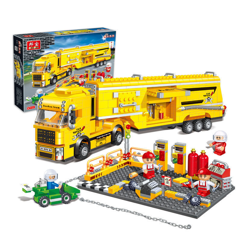 Lego Building Toys : Model building kits compatible with lego transport series