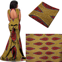 Summer Design Wholesale African Veritable Real Wax Prints 6yards Ankara Printed Fabric Super Quality Java Style