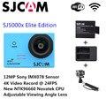 Оригинал SJCAM Бренд SJ5000X Элитный WiFi 4 К 24fps 2K30fps Гироскопа Спорт DV 2.0 ЖК NTK96660 Дайвинг 30 м Водонепроницаемый экшн-Камеры
