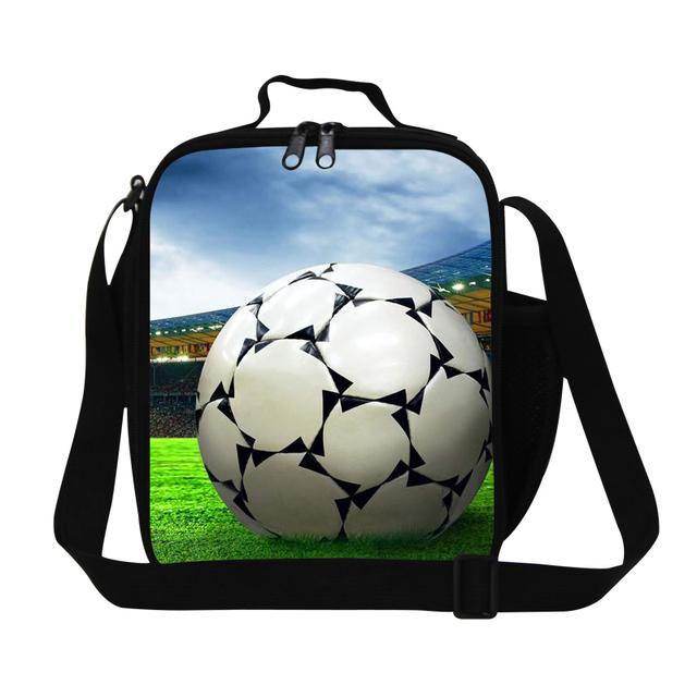 Bola fresca contenedor almuerzo aislado almuerzo bolso más fresco para los muchachos para hombre de trabajo, bolsas térmicas de moda para niños de la escuela, bolsas de comida de alimentos