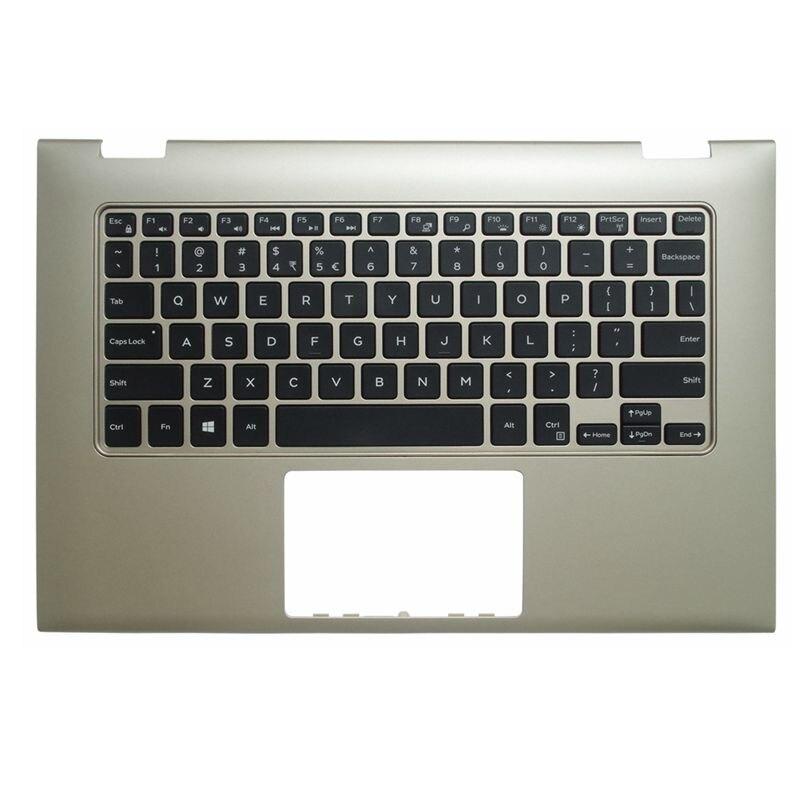 YALUZU nouveau pour Dell INSPIRON 13-7000 7347 7348 7352 7353 7359 boîtier de repos Palmrest W clavier Version US couverture supérieure couleur grise