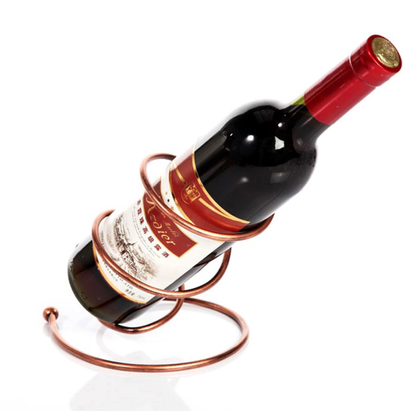 New Arrival Wire Metal Red Wine Bottle Rack Holder Wall ...