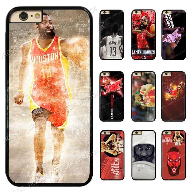 pretty nice bdb20 cbec5 JR0504 James Harden Houston Rockets PC TPU Edge Phone Case Cover For iphone  X 5 5s SE 6 6s 6 plus 6s plus 7 7 8 8 plus XS MAX XR-in Half-wrapped Case  ...