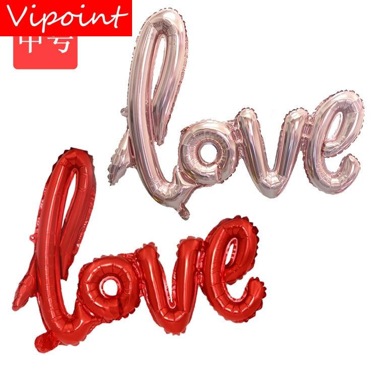 VIPOINT 73x43 centímetros lagosta vermelha balões foil casamento FESTA evento festival da festa de aniversário do dia das bruxas natal HY-92
