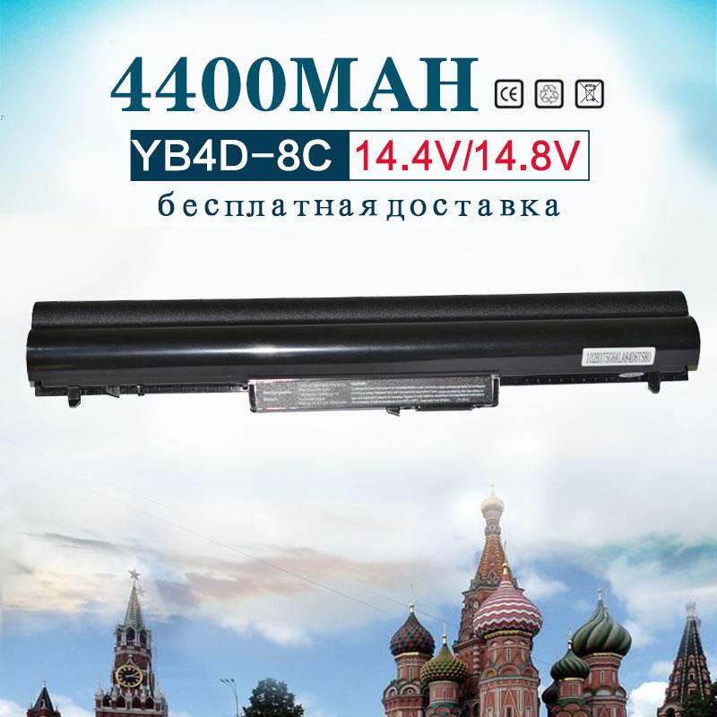 4400 мАч 8 ячеек ноутбука Батарея для hp Pavilion Sleekbook 14 до 14 ти лет 14Z 15 15T 15Z HSTNN PB5S HSTNN YB4D HSTNN DB4D VK04 VOLKS