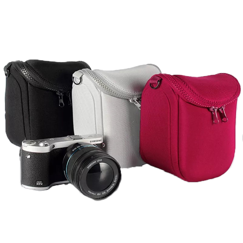 Protective Black /& Red Carry Case for Canon EOS M5 M2 Camera M10 M