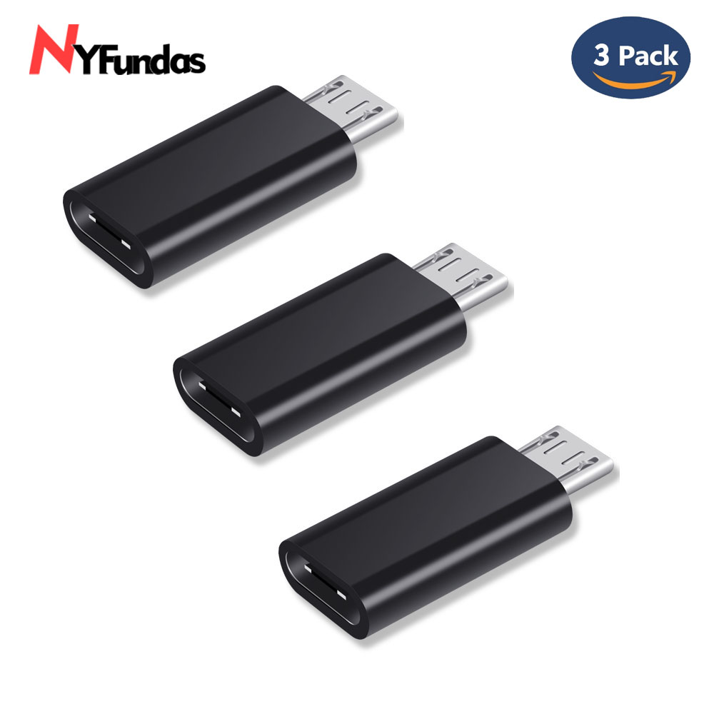 Nyfundas Micro-Usb-Adapter Usbc-Cable Usb-C Honor Xiaomi Galaxy Huawei Samsung Note-5