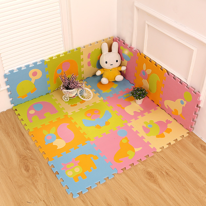 Tiere Kinder Puzzlematten Kindergarten Bodenbelag Fliesen Matten