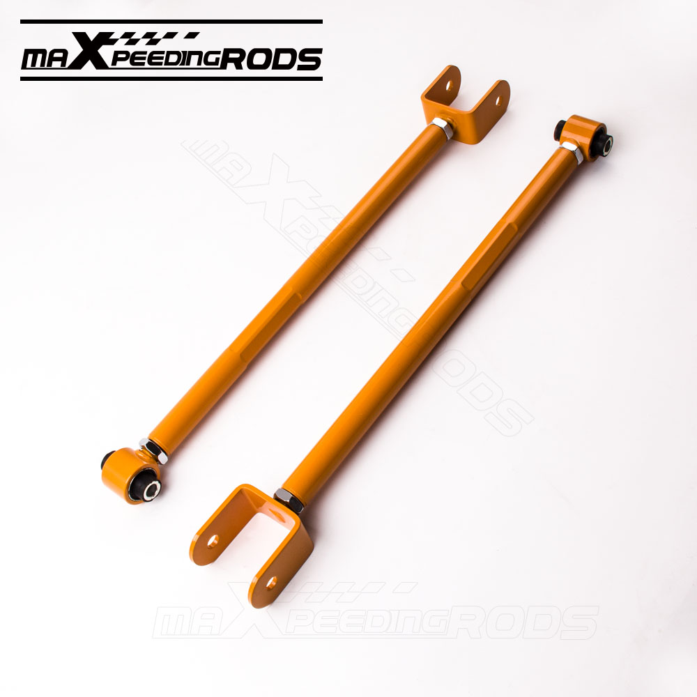 maXpeedingrods Placas de inclinaci/ón Delantero Amortiguador Camber Plate para 3 Series E46 1998-2005