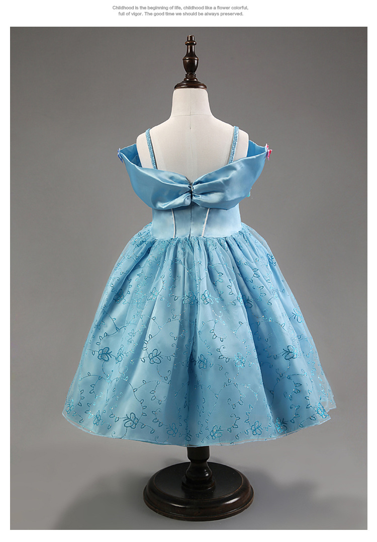 Princess Cinderella Summer Party Dress