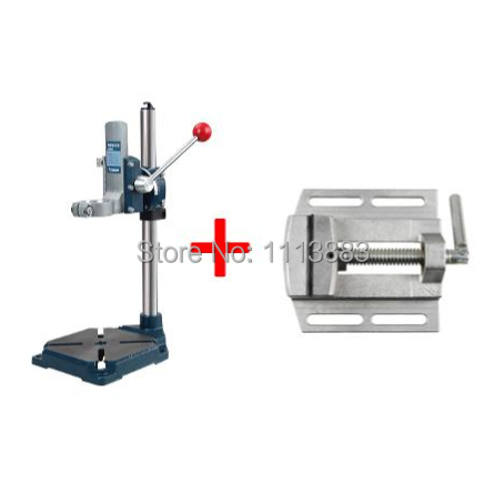 Heavy Duty Drill Stand + Vice