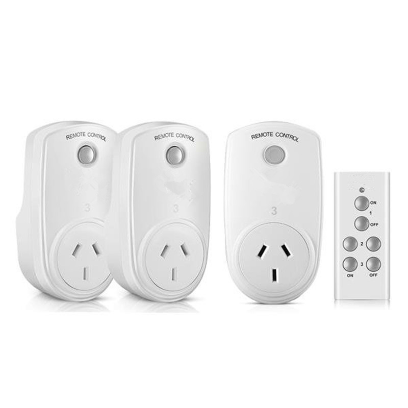 Brand RC-13 Smart Home Remote Control RF Wireless Socket Power Outlet Light Switch Timer Plug Controller EU US UK AU Plug eu us uk wireless rf 433mhz plug in lcd remote thermostat for home floor room hearting and cooling temperature controller