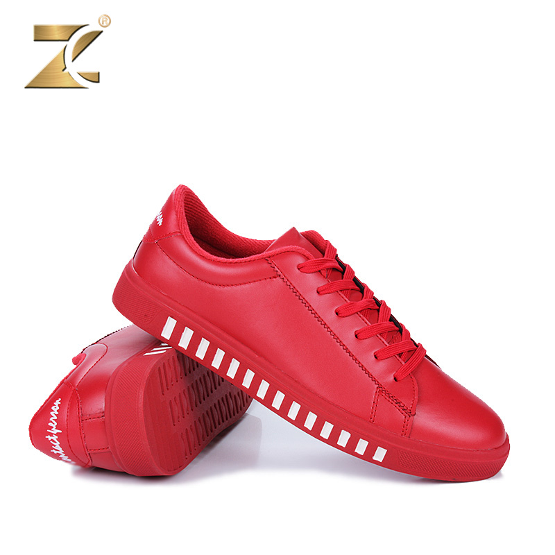 Z 2017 New Arrival Colors Men Casual Shoes Tops Brand Glossy Leather Designer Superstar Lace-up Walking Footwear Men Size 39-44 italy original deluxe brand men women golden goose ggdb casual shoes white superstar low tops genuine leather shoes scarpe 2016