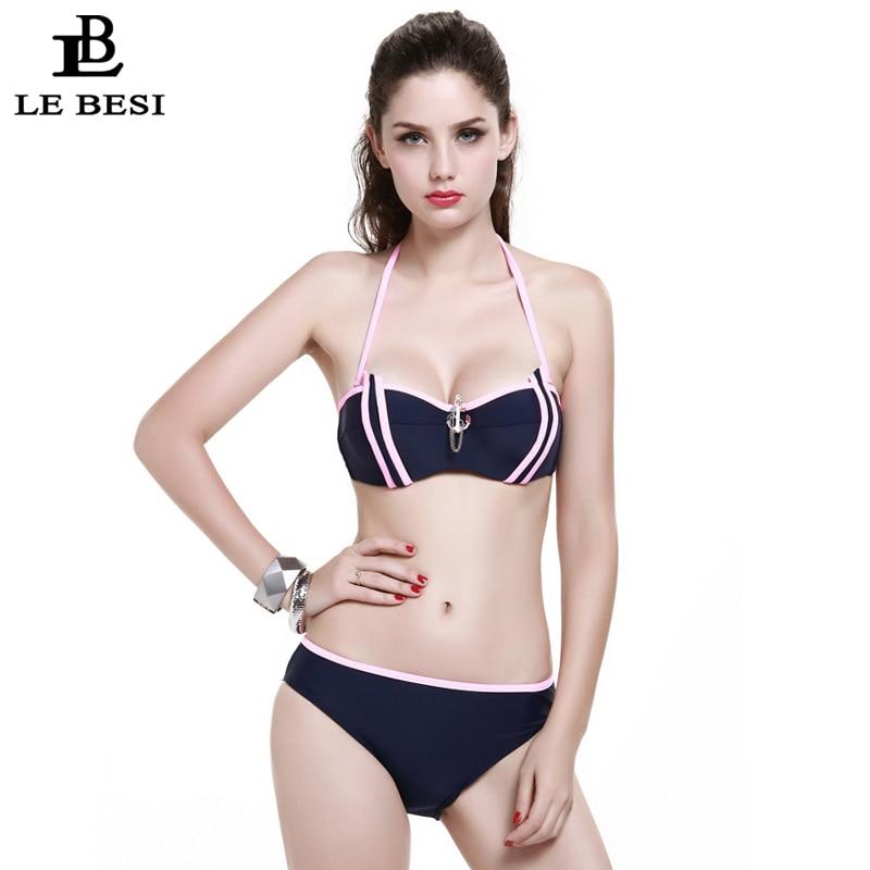 LEBESI 2017 Nuevos Bikinis Set Traje de baño de tres piezas para - Ropa deportiva y accesorios - foto 2