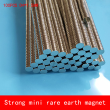 wholesale 100pcs 4x1.5mm n50 N52 rare earth magnets strong neodymium disc magnet