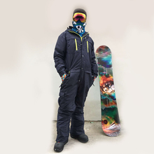 plus Size ski suit Men One Piece Winter jacket male Outdoor Snowboard Jacket Jumpsuit one piece Windproof Waterproof Skiing Sets