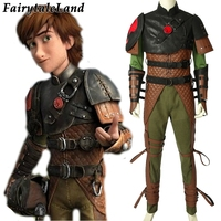 How To Train Your Dragon 2 Hiccu Cosplay Costume Uniform Hiccup Super Viking Outfit Halloween Christmas cosplay Custom Made