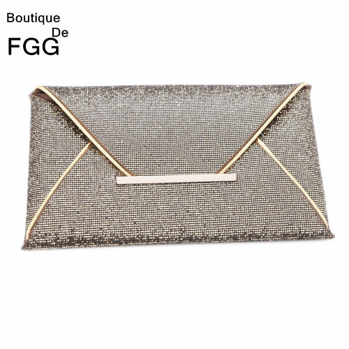 New Arrivals High Quality Bling Bling Glitter Evening Bags Ladies Causal Day Clutches Handbags Purse Wedding Envelope Clutch Bag