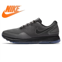 Original NIKE ZOOM ALL OUT LOW Men's Running Shoes Black Shock Absorption Non slip Wear resistant Breathable Support AJ0035 002