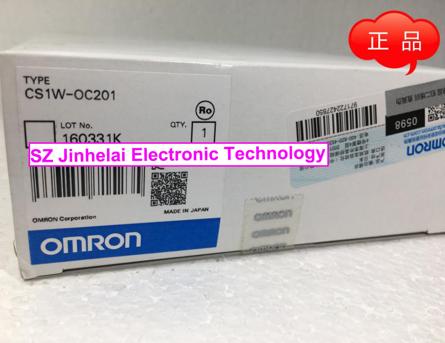 New and original CS1W-OC201 OMRON PLC Output unit [zob] new original omron omron beam photoelectric switch e3jk tr12 c 2m 2pcs lot