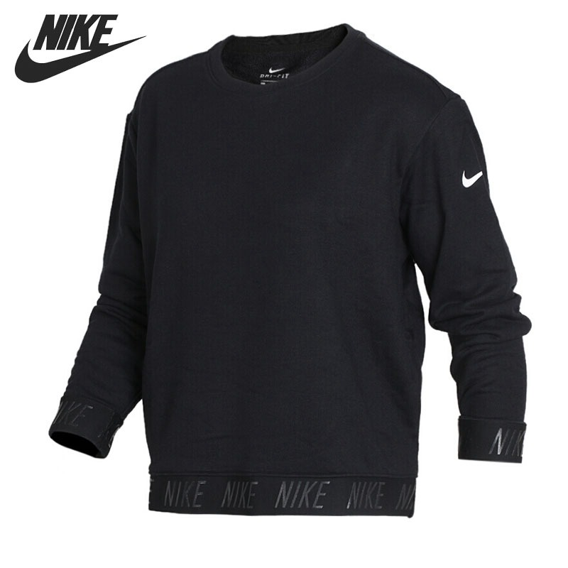 Original New Arrival 2018 NIKE  Training Coverup Women's  Pullover Jerseys Sportswear adidas original new arrival official neo women s knitted pants breathable elatstic waist sportswear bs4904