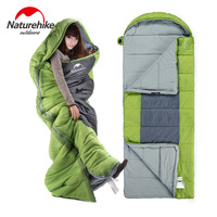 Naturehike Ultralight Portable Envelope Cotton Sleeping Bags Brand Adult Camping Outdoor Camping Travel