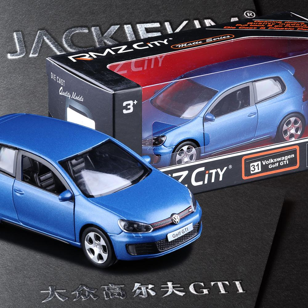 Sale 1:36 Scale High Simulation Supercar,metal Pull Back Golf GTI Cars,Grind Arenaceous Matte Blue Models,free Shipping