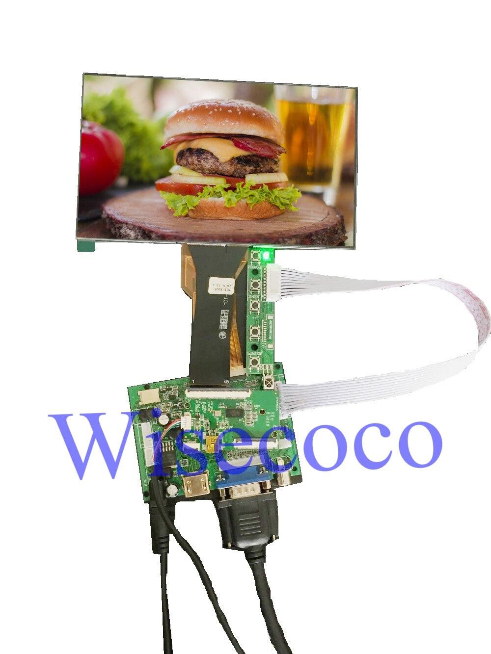 Écran LCD TFT 7 pouces avec écran tactile CTP kit clavier panneau conducteur pour framboise Pi 3 Orange Pi banane Pi