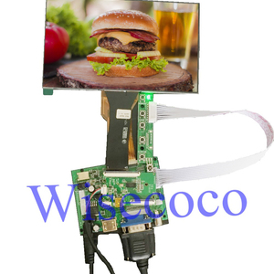 7 inch TFT LCD display with CT