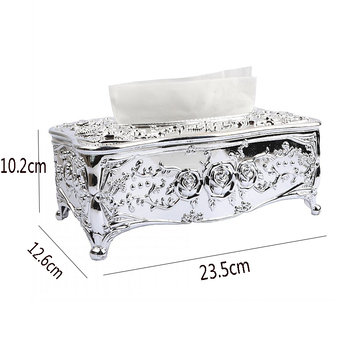 Luxury Royal Acrylic Tissue Box 1