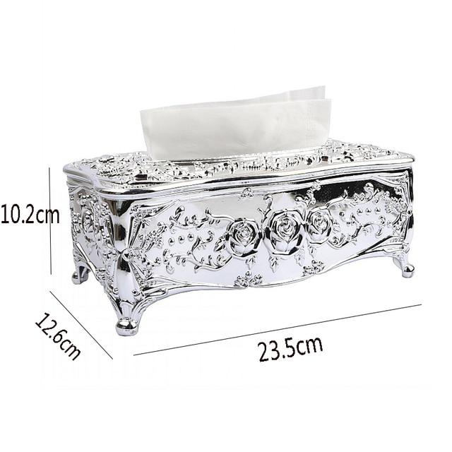 Luxury Royal Acrylic Tissue Box 1