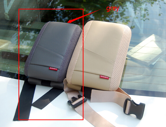 Grey Center console armrest storage box elbow supporting for Jeep Grand Cherokee Compass Patriot Wrangler Car decoration