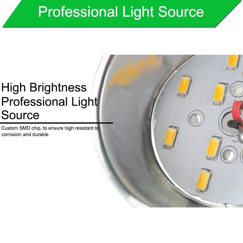 LED Downlight արծաթագույն սպիտակ - Ներքին լուսավորություն - Լուսանկար 5