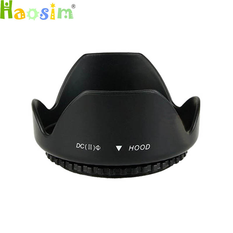 New 49 52 55 <font><b>58</b></font> 62 67 72 77 82mm Flower <font><b>LENS</b></font> <font><b>HOOD</b></font> for canon for nikon for sony for olympus image