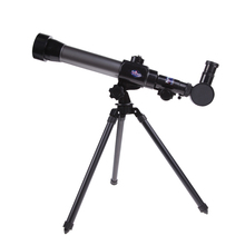 Kids Telescope Toys 40X Refractor Telescope Microscope Combo Science Star School Project Toy Children Mathematic Educational Toy
